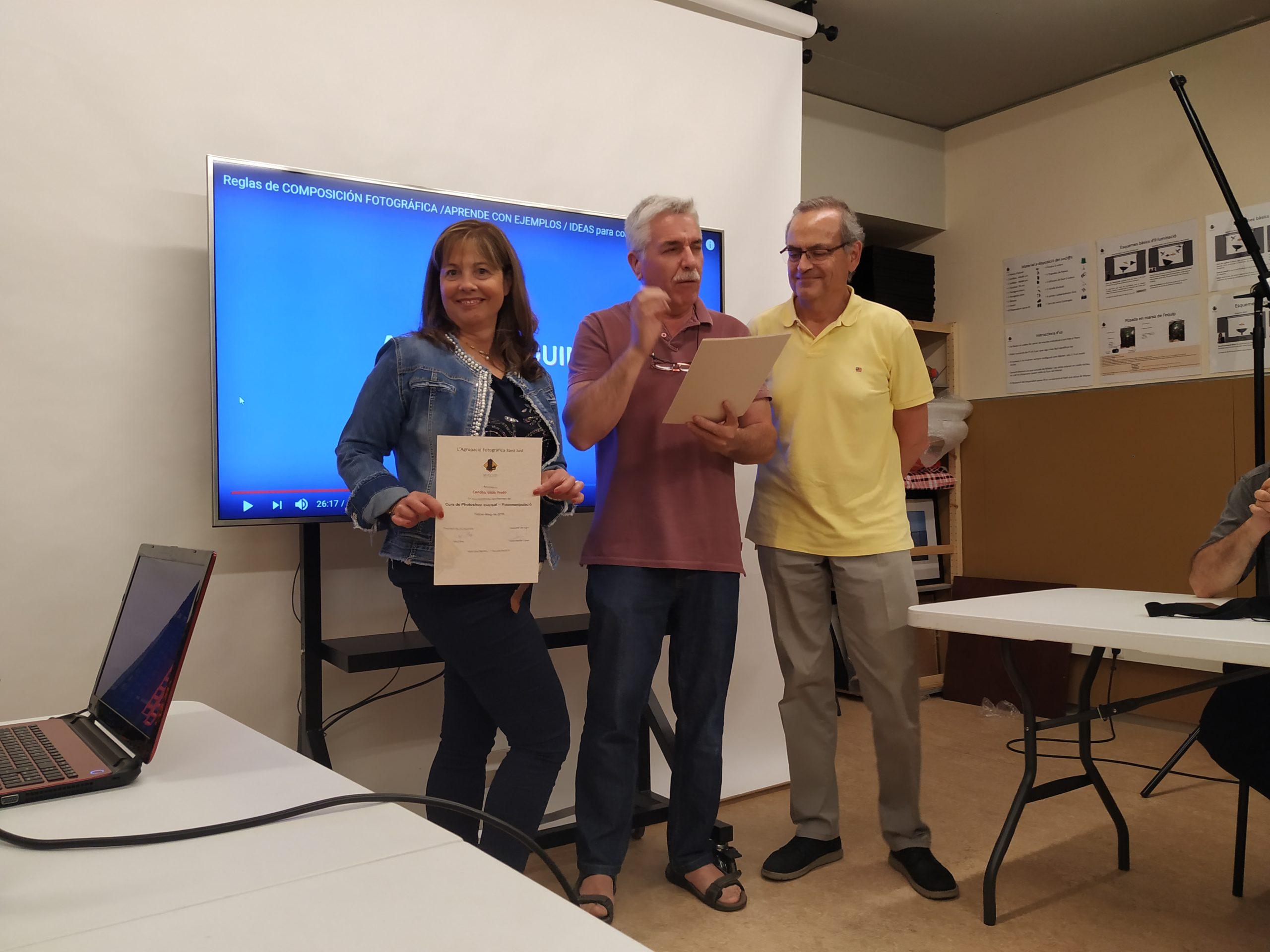 2019 Entrega diplomes cursos AFSantJust